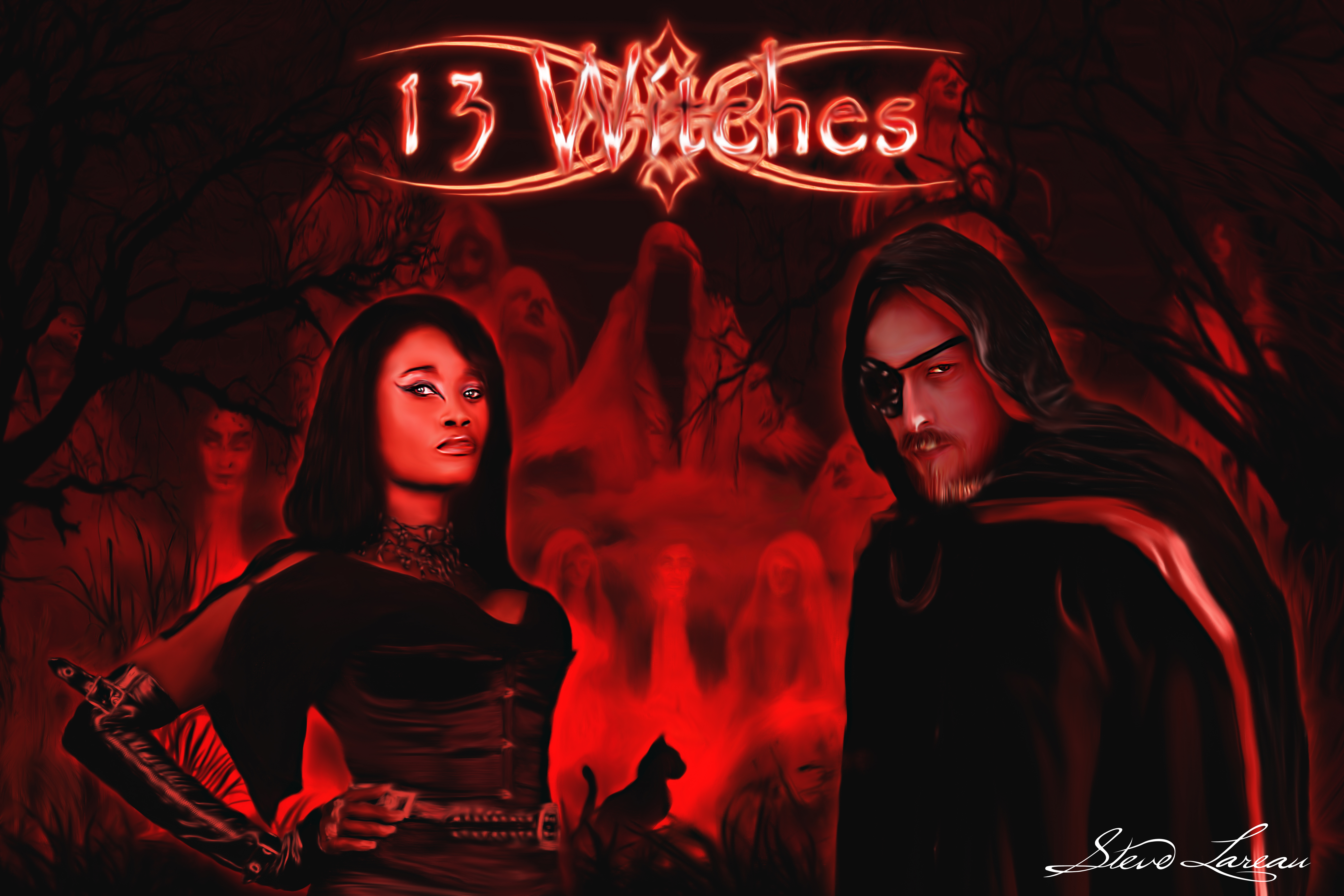 13 Witches, The Creator Queen Sabine